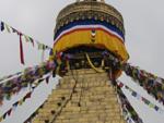 Самая большая и старейшая буддийская ступа в мире – Будданат. Глаза Будды.