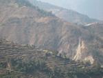 Горы в Непале возделывают вручную